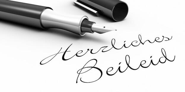 Musterbriefe Kondolenzschreiben : Beileid ausdrücken formulierungen für beileidsbekundungen